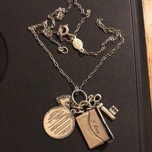 Vintage Catherine Popesco Paris charm necklace